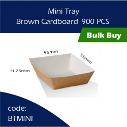 37-Mini Tray / Brown Cardboard三层硬纸托900pcs