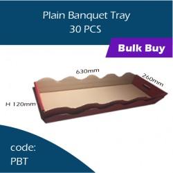 49-Plain Banquet Tray 乳猪盒 30pcs