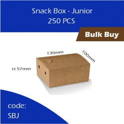 50-Snack Box - Junior单层纸餐盒250pcs