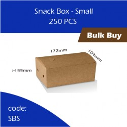 51-Snack Box - Small单层纸餐盒250pcs