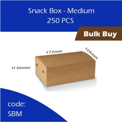 52-Snack Box - Medium单层纸餐盒250pcs
