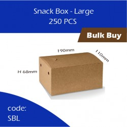 53-Snack Box - Large单层纸餐盒250pcs