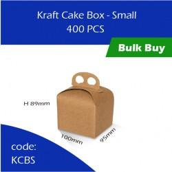 55-Kraft Cake Box - Small蛋糕盒400pcs