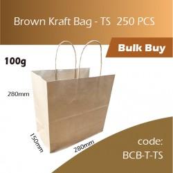 02-Brown Kraft Bag - TS  250pcs