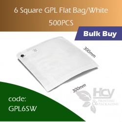 41-6 Square GPL Bag/White双层防油白纸袋 500pcs
