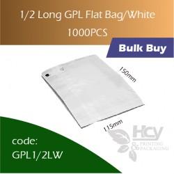 42-1/2 Long GPL Bag/white双层防油白纸袋 1000pcs