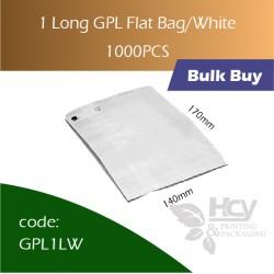 43-1 Long GPL Bag/white双层防油白纸袋 1000pcs