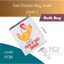 62-Foil Chicken Bag Small小鸡袋 250pcs