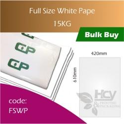 67-Full Size White Paper白色纸 15kg