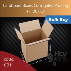 68-1 Cardboard Boxes Corrugated Packing 1号纸箱 20pcs