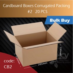 69-2 Cardboard Boxes Corrugated Packing 2号纸箱  20pcs