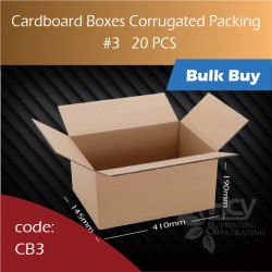 70-3 Cardboard Boxes Corrugated Packing 3号纸箱 20pcs