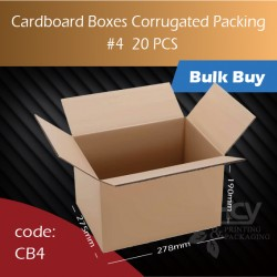 71-4 Cardboard Boxes Corrugated Packing 4号纸箱 20pcs