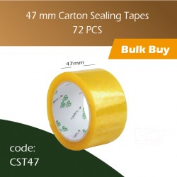 73-47 mm Carton Sealing Tapes 封口胶 72pcs