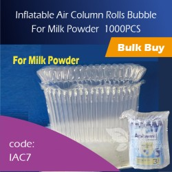 01-Inflatable Air Column Rolls Bubble For Milk Powder 奶粉气柱 1000pcs