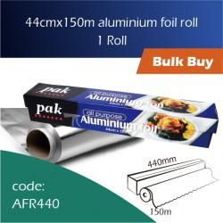 08-440mmx150m Aluminium Foil Roll 铝膜 1pcs