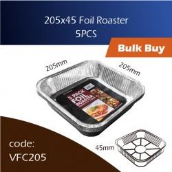 09-205x45 Foil Roaster铝盘 5pcs