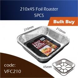 10-210x45 Foil Roaster铝盘 5pcs
