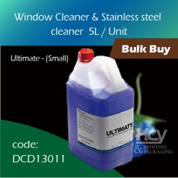 01-Window Cleaner & Stainless steel cleaner 5 L清洁剂 1pcs