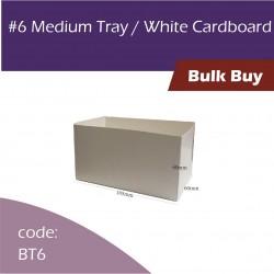 6 Medium Tray Brown Cardboard