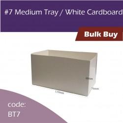 7 Medium Tray / Brown Cardboard