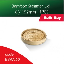 "Bamboo Steamer Lids 6""/ 152mm竹蒸笼盖100PCS"