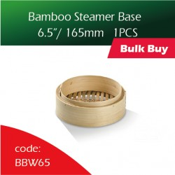"Bamboo Steamer base  6.5""/ 165mm蒸笼100PCS"