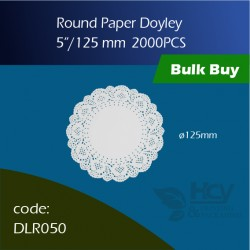 69.Round Paper Doyley125mm圆形花底纸 2000PCS
