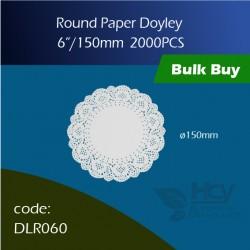 "70.Round Paper Doyley6""/ 150mm圆形花底纸 2000PCS"