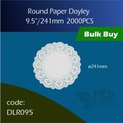 72.Round Doyley 241 mm (8x250's)圆形花底纸 2000PCS