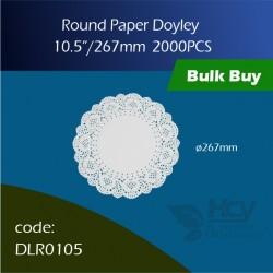 73.Round Doyley 267 mm (8x250's)圆形花底纸 2000PCS
