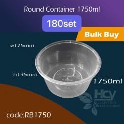 11.Round Container 1750ml 胶圆盒400PCS