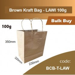 07-Brown Kraft Bag - LAW1 350*230*320mm 120PCS