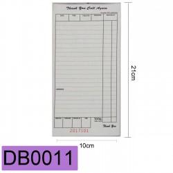 DB0011CARBONLESS 150PCS 21X10CM