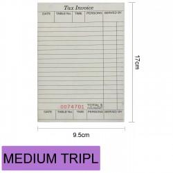 MEDIUM TRIPLI CATE三联白绿粉150PCS17X9.5CM