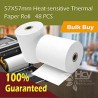 57x57mm Heat-sensitive Thermal Paper Roll