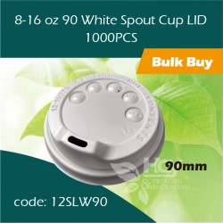 32-8-16 oz 90 White Spout Cup LID