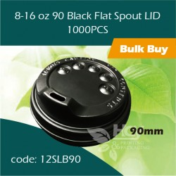 33-8-16 oz 90 Black Spout Cup LID