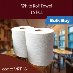 08.White Roll Towel 擦手纸卷16PCS