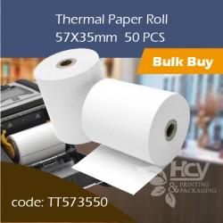 02.Thermal Paper Roll热敏纸57x35mm 50PCS
