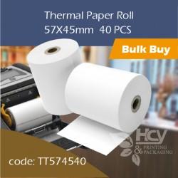 05.Thermal Paper Roll热敏纸57x45mm 40PCS