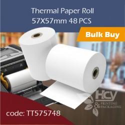 06.Thermal Paper Roll热敏纸57x57mm 48PCS