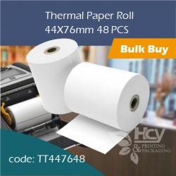 07.Thermal Paper Roll热敏纸44x76mm 48PCS