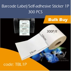08.Barcode Label/Self-adhesive Sticker 1P热敏纸 1PCS