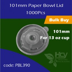 06.Paper Bowl Lid 101mm 盖1000PCS