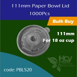 08.Paper Bowl Lid 111mm 盖1000PCS