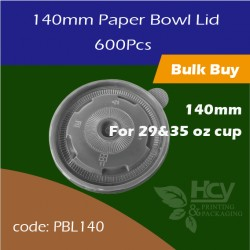 11.Paper Bowl Lid140mm 盖600PCS