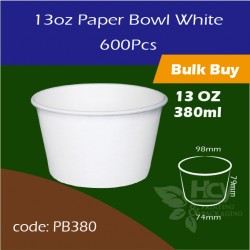 12.Paper Bowl White13oz 380ml白碗600PCS