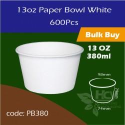 12.Paper Bowl White13oz 380ml白碗600PCS