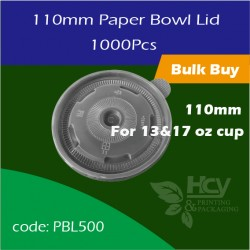 14.Paper Bowl Lid110mm 盖1000PCS